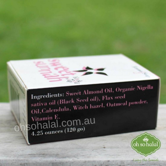 Black Seed Eczema and Psoriasis Soap - 120g