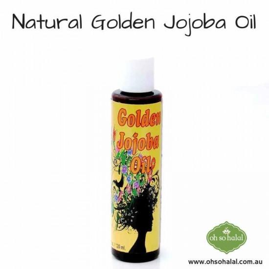 Natural Golden Jojoba Oil