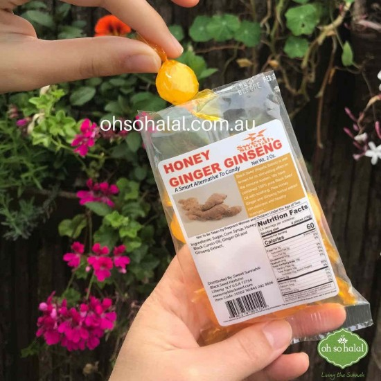 Herbal Lozenges - Honey, Ginger and Ginseng