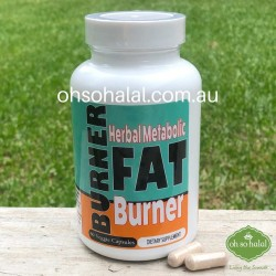 Herbal Metabolic Fat Burner- 60 Veggie Capsules