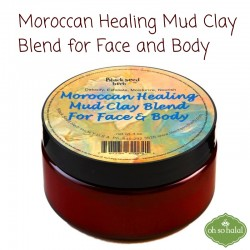 Moroccan Healing Mud Clay Blend for Face and Body Powder