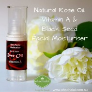 Natural Rose Oil and Vitamin A Facial Moisturizer-30ml