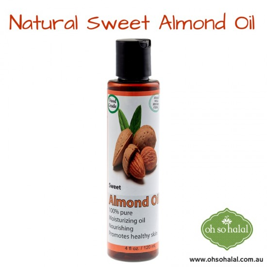 Natural Sweet Almond Oil -120ml
