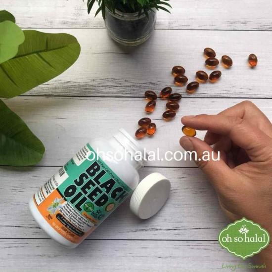 Black Seed Oil - 90 Softgel Capsules