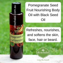 Pomegranate Seed Fruit Nourishing Body Oil - 120ml