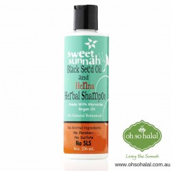 Black Seed Oil and Henna Herbal Shampoo
