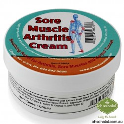 Sore Muscle/Arthritis Cream - 120ml
