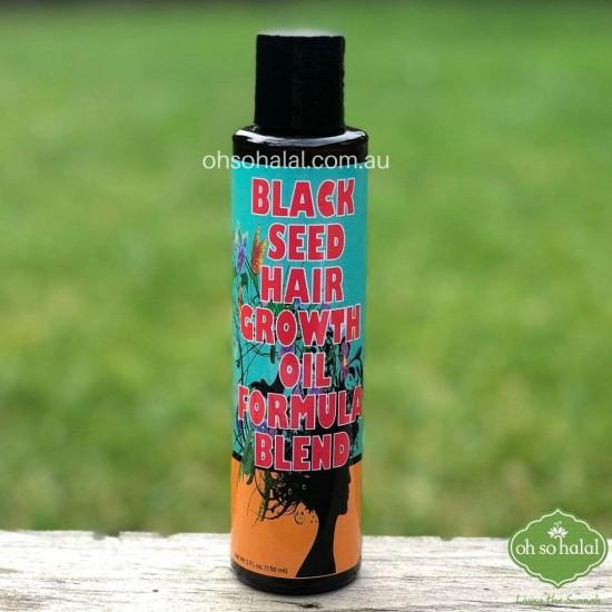 Black Seed Hair Growth Oil Formula Blend
