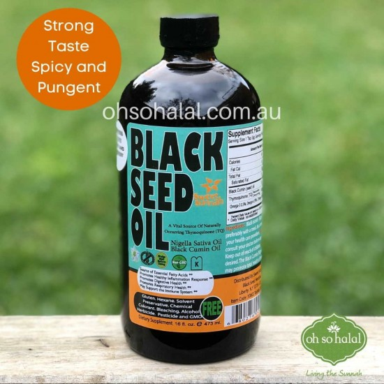 Sweet Sunnah Black Seed Oil – Strong Taste 473ml