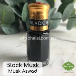 Black Musk Attar Perfume Oil