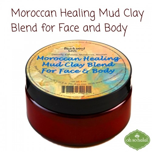 Moroccan Healing Mud Clay Blend for Face and Body Powder: Product Review